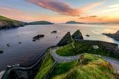 Ireland.dunquinharbor.blasketisland.dinglepeninsula.SS