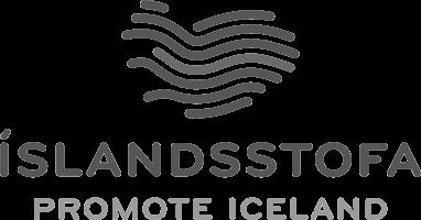 Logo for Promote Iceland